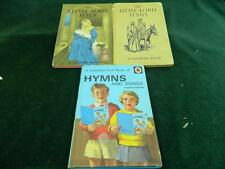 3 vintage ladybird books 2 The Little Lord Jesus and Hymns and songs