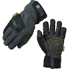 Mechanix Cold Weather Wind Resistant Gray & Black Work Gloves - MCW-WR