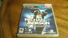 Michael Jackson: The Experience  (Sony Playstation 3, 2011) BRAND NEW SEALED PS3