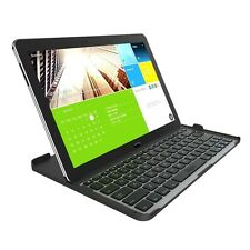 ZAGG Cover Fit Bluetooth Keyboard Samsung 12.2 In Galaxy Note Pro Tab Pro-Black