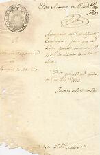 Escrito del año 1833. Corregimiento Rbal. de Letras de Ourense. 211x140 mm.