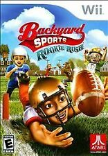 Backyard Sports Football: Rookie Rush - Nintendo Wii, Free Shipping