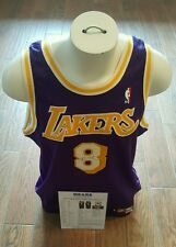 1998-99 LA LAKERS KOBE BRYANT GAME WORN SIGNED AUTHENTIC JERSEY MEARS LETTER