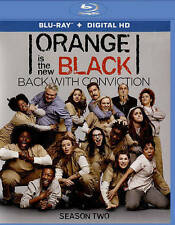 Orange Is the New Black: Season Two (Blu-ray Disc, 2015, 3-Disc Set)