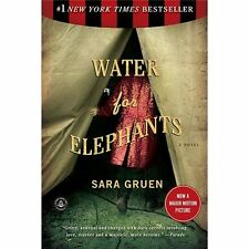 Water for Elephants by Sara Gruen Softcover Book in Excellent Condition