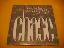 Cardsleeve Single CD CHASE Music Is My Life 2TR 1993 eurodance