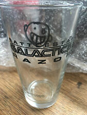 Battlestar Galactica Razor Pint Glass Newbury Comics Pop Culture Series #6 NEW