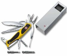 0.9798.MWC8 Victorinox Swiss Army RangerGrip Boatsman Yellow 22 TOOLS + POUCH !!