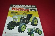 Mitsubishi YM135 YM135D Tractor Dealer's Brochure DCPA2