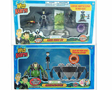 Wild Kratts Martin Chris Deluxe Figure Sets Zach Firefly Shrink Martin PBS NEW