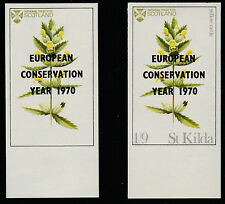 GB Locals St Kilda (1328) 1970 Conservation Year opt on Flowers NAME MISSING