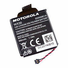 Original 300mAh Battery WX30 SNN5951A For Motorola MOTO 360 1st Gen Smart Watch