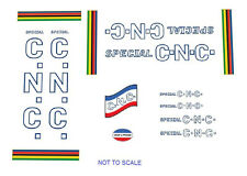C.N.C. Special Bicycle Decals, Transfers, Stickers n.1