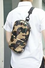 BAPE A Bathing APE 2015 magazine appendix camouflage backpack messenger bag
