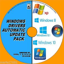 Driver di Windows aggiornamenti Pack DVD XP Vista 7 8 & 10 installare / aggiornare / RIPARARE PC / Laptop