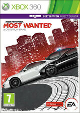 Need for Speed: most Wanted XBox 360 ~ (en gran condición)