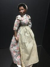 """RARE , Franklin Mint Gone With The Wind Doll  Maid  19 Inch  """" Prissy """""""