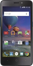 Simple Mobile-ZTE Midnight Pro 4G LTE with 8GB Memory Prepaid Cell Phone .Black.