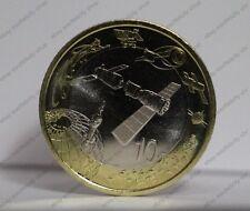 China 2015 Aerospace Commemorative Coin Spaceflight 10 Yuan