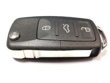 Replacement 3 button flip key case for VW Volkswagen Caddy remote key