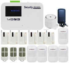 T10 IOS/Android APP DIY GSM Wireless & Wired Home Security Alarm Burglar System