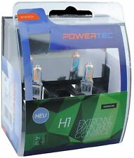 POWERTEC EXTREME WEATHER CONTROL DUO H1 HEADLIGHT CAR BULB SET 12V 55W