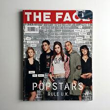 Vintage THE FACE Magazine April 2001 V3 No. 51 Hear'say Popstars Cover