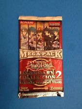 Yu-Gi-Oh ( LEGENDARY COLLECTION 2 GX MEGA PACK ) Sealed 9 Cards Booster Pack x 1