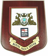 ROYAL NAVY RN DIVER FROGMAN CLASSIC HAND MADE REGIMENTAL MESS PLAQUE