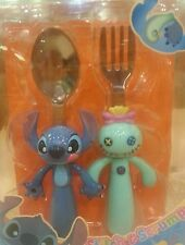 Disney Stitch Scrump Fork and Spoon Set HKDL NEW RARE