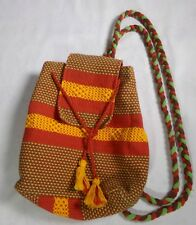 Ethnic Boho Hipster Bohemian Colorful Bright Backpack Bag Purse