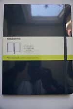 Moleskine Classic Collection Plain Notebook, XLarge, Hard Cover 7.5 x 9.75 Navy