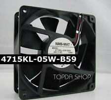 NMB 4715KL-05W-B59 Inverter cooling fan DC24V 0.65A 120*120*38mm 3pin
