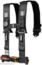 "Pro Armor 5 Point 3"" Padded Seat Belt Harness Can-Am Commander 800/1000 Black"