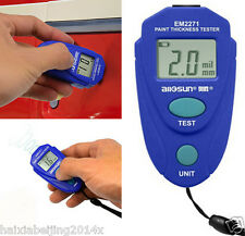 Car Digital Painting Thickness Meter Coating Gauge Paint Tester Measuring Tool