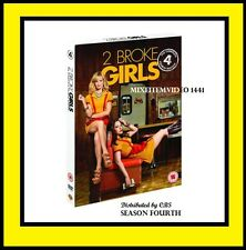 2 Broke Girls: The Complete Fourth Season 4 (DVD,2015, 3-Disc Set) Free Shipping