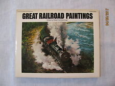 Great Railroad Paintings Edited by R Goldsborough,(1976, Pprbck),1st US Edition