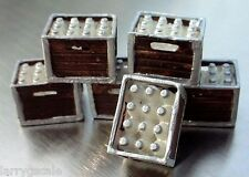 Borden's Milk Crates (12) with Pallet for your Model Train Scenery