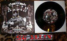 """GG ALLIN/disco lepers Limited Edition Split 7"""" *100 COPIES ONLY* toilet rockers"""