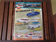 TRAX CATALOGUE 4TH EDITION 2013 XG UTE FE STATION SEDAN LOWNDES MONTE CARLO FX