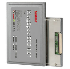 "KingSpec 1.8"" ZIF ZIF2 CE SSD 64GB for SONY UX TZ FUJITSU LATITUDE XT DEALL D430"
