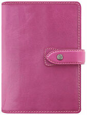 Filofax Malden Organiseur Personnel Rose Fuschia Buffalo Journal En Cuir 026028