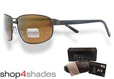 Serengeti Trapani Titanium Sunglasses Satin Dk Brown_Polarised Drivers Gold 7600