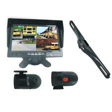 Pyle PLCMDVR72 DVR Dash Cam Vehicle Driving Video Camera & Monitor System Kit