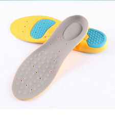 Orthotic Arch Support Sport Running Gel Insoles Cushion Shoe Pad Pain Back Neck