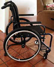 "BRAND NEW TILITE AERO RIGID FRAME WHEELCHAIR, SEAT 16"" X 16"", FAST CHAIR"