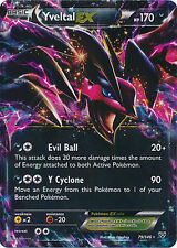 Pokemon XY Yveltal EX 79/146 Holo Ultra Rare Card