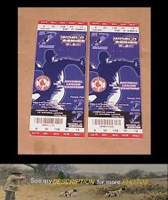 (2) 2004 World Series Baseball Tickets Game Seven