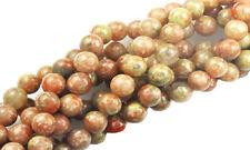 Autumn Jasper Gemstone Round Beads 6MM