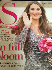 New UK S Mag KATE MIDDLETON ON MOTHERHOOD TORI AMOS LISA FAULKNER HELEN FLANAGAN